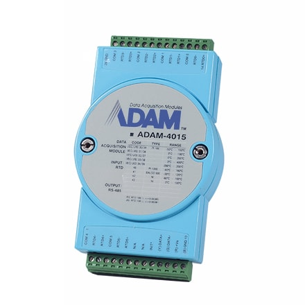 6-channel RTD Module with Modbus